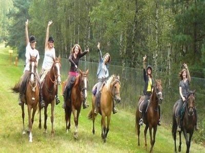 Week-en à cheval en forêt d'Orléans
