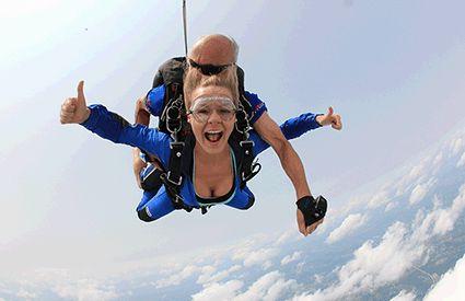 Parachutisme dans France