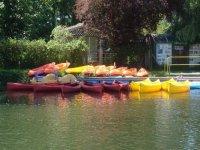 Les canoes du centre