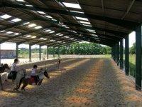 Le manege du centre equestre