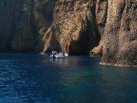 Evasion vers les criques Corses
