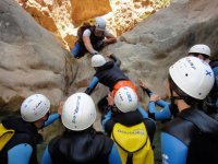 experience canyoning avec le guide