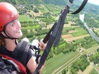 au dessus de la Dordogne