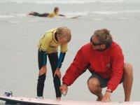 Decouverte du surf pour les enfants