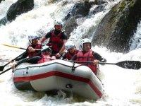 Rafting avec un guide