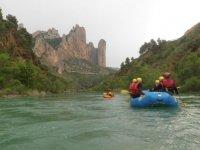 Rafting dans les Pyrenees Atlantiques
