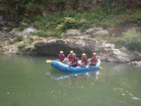 Rafting entre amis en famille ou entre collegues
