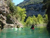 Kayak avec Nature et Riviere