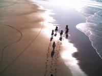 Randonnee sur la plage