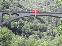 Départ de un pont
