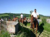 Sortie équestre dans le Calvados