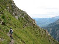 VTT dans les montagnes