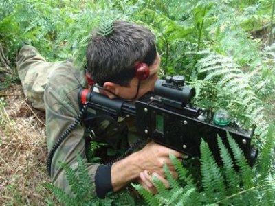 Nature Evasion Laser Tag