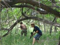 Laser tag outdoor parc nature evasion