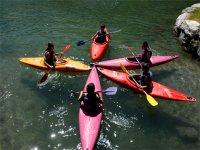 Kayak avec l enfant Araignee