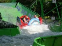 Crazy river splash