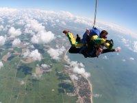 Votre baptême en parachute a la Tranche sur Mer
