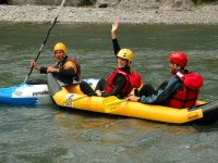 Canoe avec Rafting en Ubaye