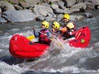 Canoe entre amis ou en famille dans les Alpes de Haute Provence