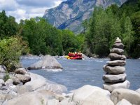 Des emotions fortes en rafting