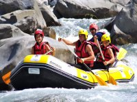 Rafting dans les Alpes