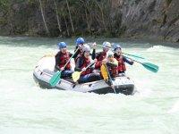Rafting dans les Pyrenees