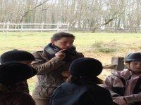 Cours d equitation enfants