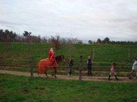 Le Pere Noel a la ferme de Gueyte