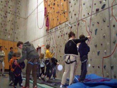 Club Alpin Français Nancy Mur d'escalade