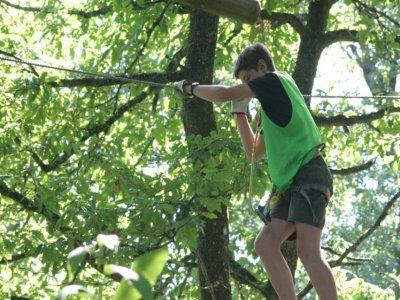 Indian Forest Le Bois Lambert Parcours Aventure