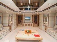 L'intérieur du Yacht