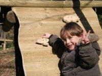 Enfant sur parcours Happy Forest