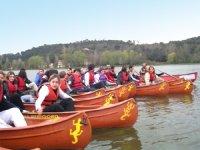 Initiation canoe sur riviere Dordogne