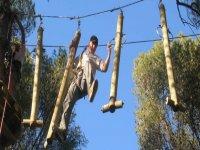 Parcours acrobatique