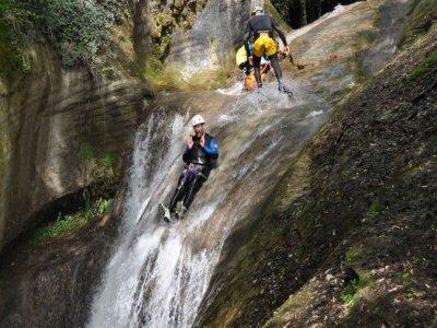 Savoie-canyoning
