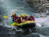 Aventure rafting sur le Gave d Oloron