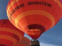 Montgolfière en vol avec Montgolfiere Sensation Lyon
