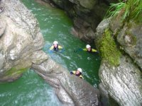 Canyoning familial Les Rousses