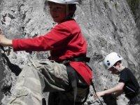Initiation a l escalade enfants et adultes dans le Jura