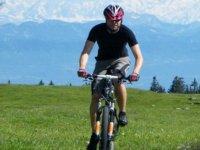 Vtt sportif en montagne