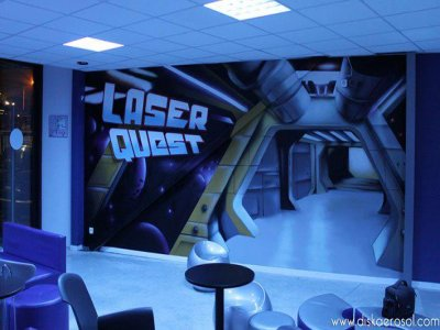 Laser Quest Courcouronnes -1 Partie