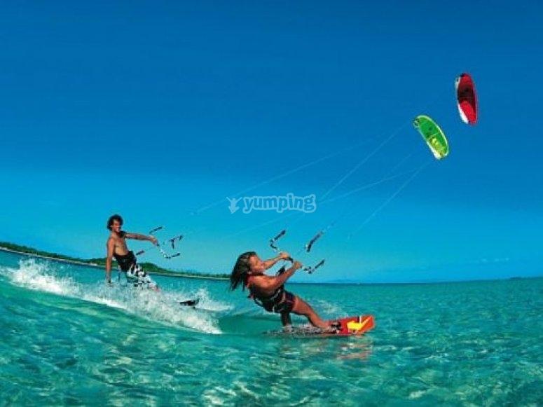 Faire du kitesurf en sécurité