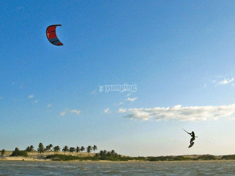 Consignes de sécurité kitesurf
