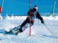 Entraînement de ski
