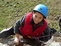 Le futur alpiniste