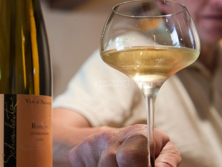 Vin alsacien