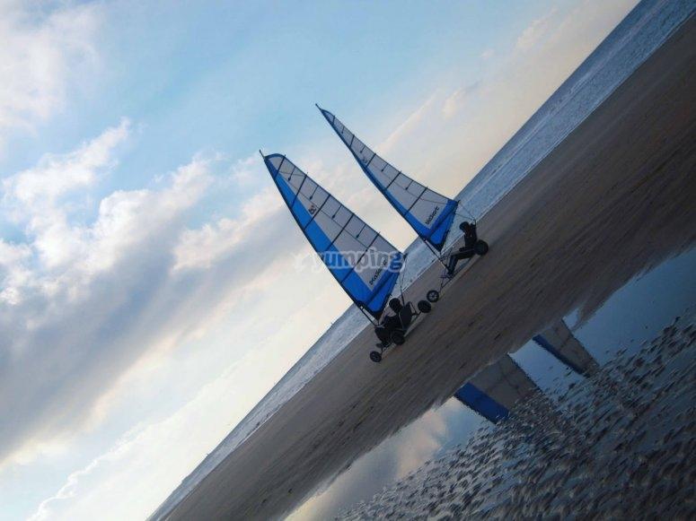 Char à voile Basse Normandie