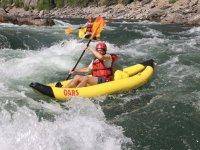 Air kayak sur l Arve
