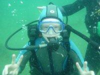 Plongee enfant en Bretagne