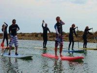 Apprendre le paddle surf dans le 11